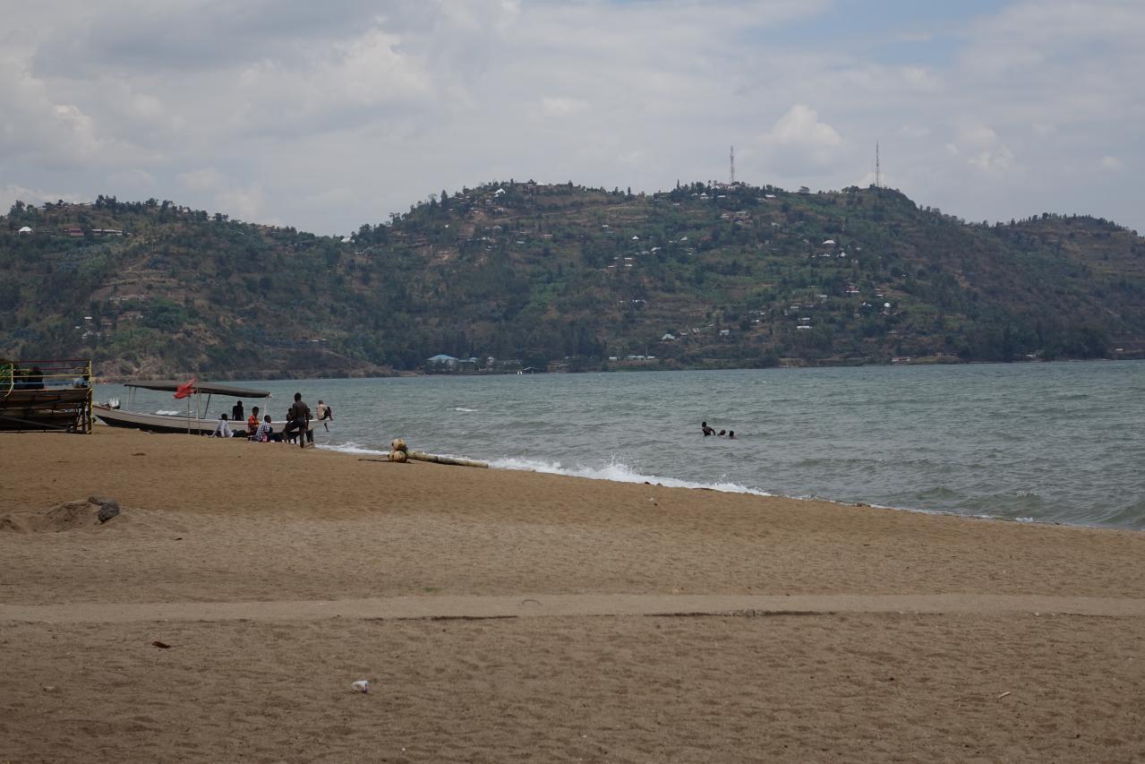 El explosivo lago Kivu en Ruanda